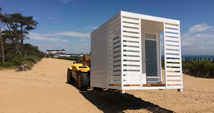 Innovatec Design cabine spiaggia