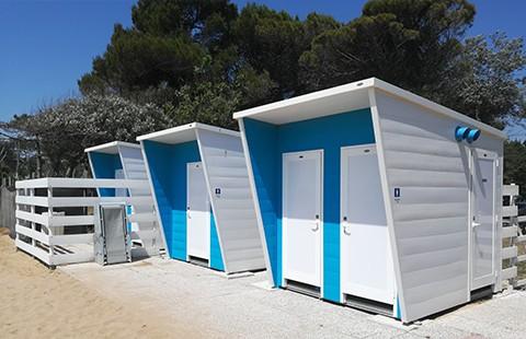 Innovatec cabine spiaggia